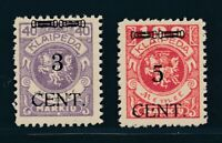 MEMEL 1923, Mi. 178 + 180 **, gute Werte postfrisch! Tadellos! Mi. 100,--!