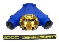 WSM Seadoo 1503 Intercooler - no hose - no flush Corrosion proof - Life Warranty