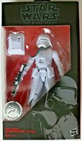 "Action Figure - STAR WARS - Black Series First Order Snowtrooper Officer 6"" TRU"