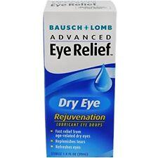 Bausch & Lomb Advanced Eye Relief Dry Eye Lubricant Eye Drops 1 oz (9 Pack)