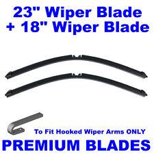 "AERO Multi-Clip 23"" Inch & 18"" Inch Pair Front Windscreen Wiper Blades"