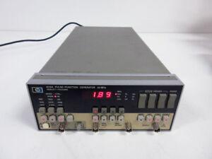 HP 8116A PULSE FUNCTION GENERATOR 50MHZ ~ AGILENT