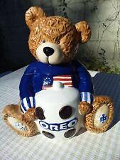 2002 OREO Bear Cookie Jar Patriotic 6TH in Series