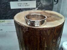 """ Pennsylvania "" Size 9 1/2 Custom Made Coin Ring U.S. State Quarter"