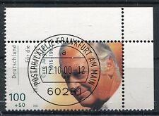 Bund Mi-Nr 2144  Ecke 2 (100+50) -Curd Jürgens- EST Frankfurt/Main  2000