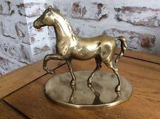 Brass Horse on Plinth Ornament