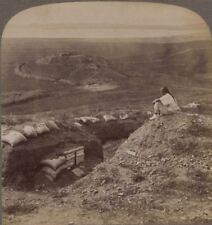 Looking over Russian Trenches & Magazine. Nanshan Hill. Japanese Russian War
