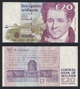 Irlanda 20 pounds 1999 BB+/VF+  C-10