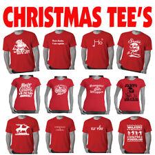 Rude Christmas T Shirts Mens Xmas tee's Funny T shirt offensive Men's Ladies tee