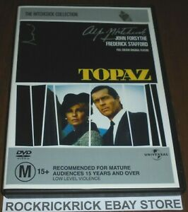 THE HITCHCOCK COLLECTION TOPAZ DVD (JOHN FORSYTHE & FREDERICK STAFFORD) REGION 4