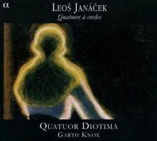 Quatuor Diotima, L. Janacek - String Quartets [New CD] Digipack Packaging