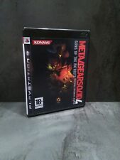 PS3 : METAL GEAR SOLID 4 : Guns Of The Patriots - Comme NEUF