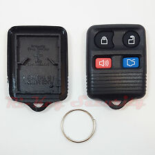 Replacement Alarm Remote Shell 4 Buttons Keyless Entry Fob Case Lincoln Mercury