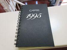 Tobaccania , Capri Ciugarettes , 1995 , Planner Book , Old / New , B&W Tobacco