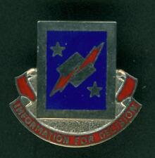 U.S. ARMY INFORMATION SYSTEMS ENGINEERING CMD, DI, DUI, UNIT CREST, CB, HM G23