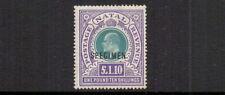 NATAL 1902 £1.10  SPECIMEN MH