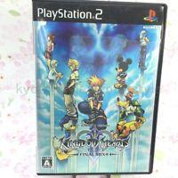USED PS2 Kingdom Hearts II 2 Final Mix best 04947 JAPAN IMPORT
