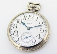 .Elgin C1922 Veritas 16s 23 Jewel Motor Barrel 50mm O/F Pocket Watch