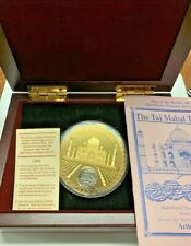 1702 Silver Rupee Taj Mahal Sunken Treasure 12 Ounce Silver Proof Coin OG Box