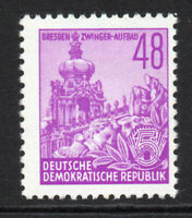 East Germany 48pf Stamp c1953 (Aug) Unmounted Mint Never Hinged (5291)