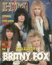 rivista - H/M HEAVY METAL - Anno V Numero 85