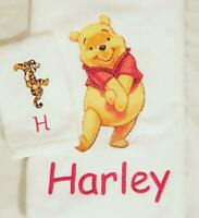 Winnie The Pooh Embroidery 3 Piece Towel Set