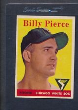 1958 Topps #050 Billy Pierce White Sox Fair *47
