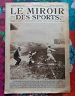 Le MIROIR des SPORTS 12-11-1924 Betty NUTHALL base-ball à Paris avec Américains