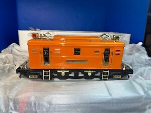 MTH 10-1104-1 Standard Gauge Orange No. 9e Electric Locomotive With PS