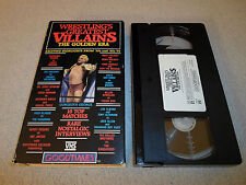 Tested Wrestling Greatest Villains the Golden Era VHS 50s/60s TV Gorgeous George
