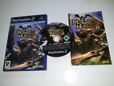 * Sony Playstation 2 Game * MONSTER HUNTER * PS2