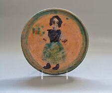 JOHN LONERGAN (Amer., 1896-1969) Handpainted Ceramic (Met & Smithsonian artist)