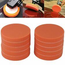 10x KFZ Polierschwamm Polierschwämme Polierpads Orange Glatt 150mm
