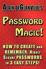 Password Magic by Alain deGlanville (2010, Paperback)