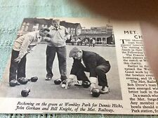 M89a 1966 picture london transport bowls dennis hicks gorham knight