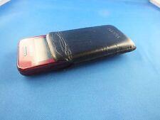 Leder Tasche Hülle Samsung GT S5230 Handytasche Nostalgie Klassik Black Schwarz