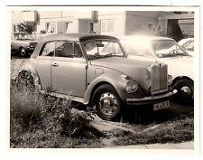 R ! VW Volkswagen Käfer Cabrio Umbau m ROLLS ROYCE Kühler * Amateur-Foto um 1970
