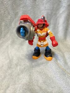 """Wendy Waters Firefighter - Rescue Heroes - Fisher price - Action figure 1998 6"""""""