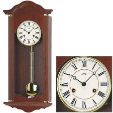 AMS Régulateur avec pendule horloge à pendule mécanique Noyer Bim/Bam