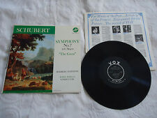 SCHUBERT-SYMPHONY No.7 IN C MAJOR BAMBERG SYMPHONY 1956 VOX REC.PL 10.200 EX.VG+