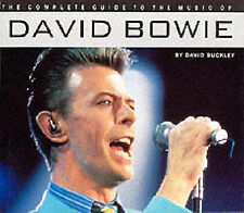COMPLETE GUIDE TO THE MUSIC OF DAVID BOWIE NEW PAPERBACK CD SIZE DAVID BUCKLEY.