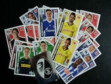 10x Aussuchen - Topps Sticker Fussball Bundesliga Penny - 2013/2014/2015