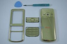 Metal Gold Fascia Housing Cover for Nokia 6700 Classic 6700C Faceplate Case Keyp