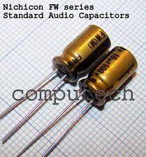 10uF 100V NICHICON FW Serie Audio Capacitors Condensatore per audio 5 pezzi