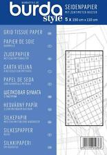 BURDA SEWING GRID TISSUE PAPER 5 X 150CM X 110CM