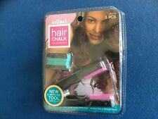 Hair Chalk set, includes chalk tool and two chalk colors, set of 5 pieces,  New