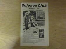 June 1957, SCIENCE CLUB, Dunedin, Margaret Jones, Roger Bowman, Florence Yee.