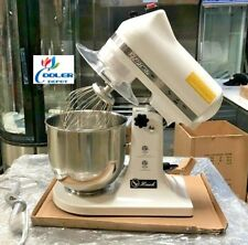 New 7 Quart Mixer Machine Speed Dial Commercial Bakery Kitchen Equipment Nsf
