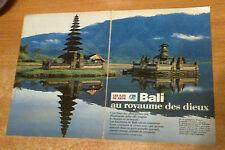 Publicité advertising radio o 'fm 99.9 bali (double page)