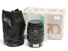 Contax G Vario-Sonnar 35-70mm F/3.5-5.6 Lens in Black, G2 *MINT in Box*